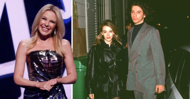 Kylie Minogue reveals Michael Hutchence 'cried on all fours' after break-up