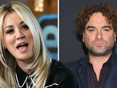 The Big Bang Theory's Kaley Cuoco ends decade with Johnny Galecki dig and loads of Penny and Leonard throwbacks