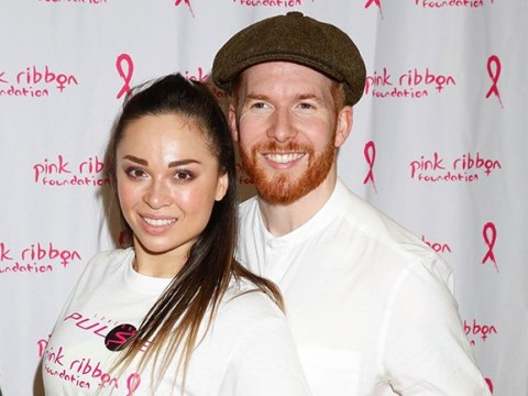 Katya Jones and Neil grin and put kiss scandal behind them amid Strictly 'axe' claims