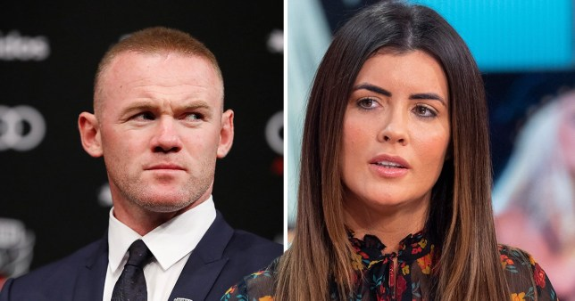 Helen Wood and Wayne Rooney