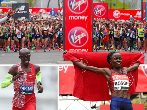More than 40,000 runners take to streets for 2019 London Marathon