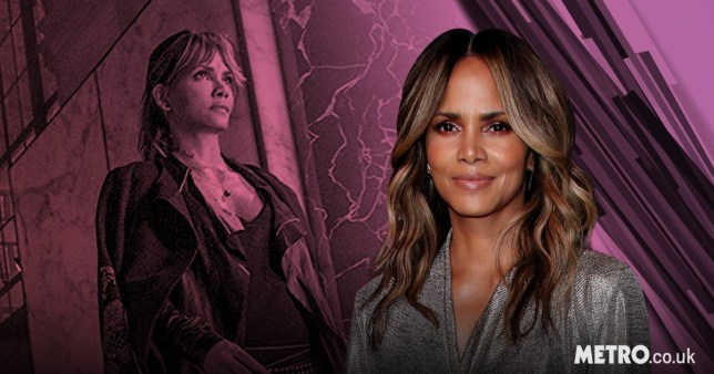 Halle Berry with her John Wick: Chapter 3 - Parabellum character Sofia