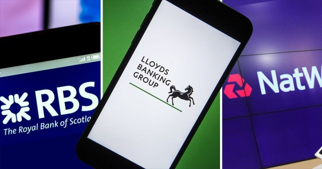 Natwest, Lloyds and Halifax internet banking apps go down