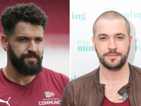 Shayne Ward swaps shaved head for curls and hipster beard – and we're so into his new look