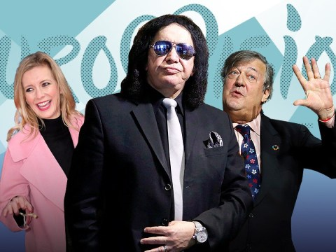 Stephen Fry, Rachel Riley and Gene Simmons sign statement opposing Eurovision boycott