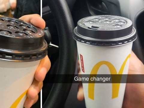 McDonald's customers are using plastic coffee lids to avoid paper straws