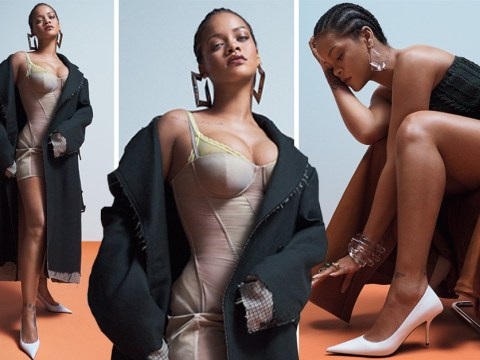 Rihanna did not have to slay for Vogue nude underwear photoshoot but she did