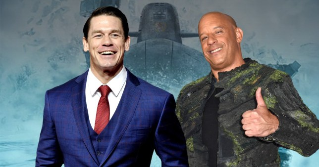 john cena and vin diesel