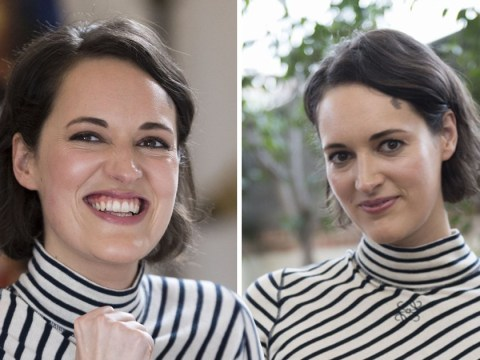 Phoebe Waller-Bridge looks way too happy that Fleabag isn't returning for series 3 as our heart still aches