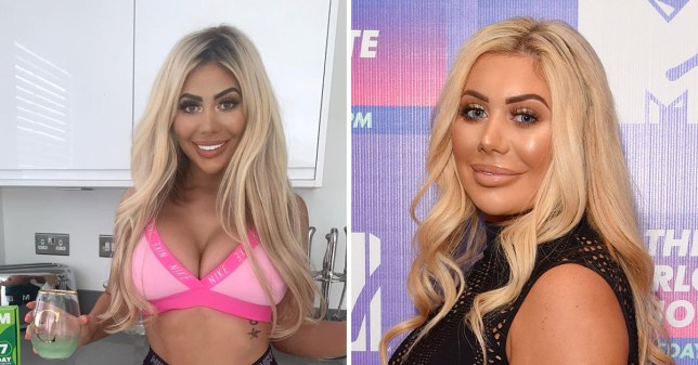 Fans hit out at surgery loving Chloe Ferry over weight loss plan