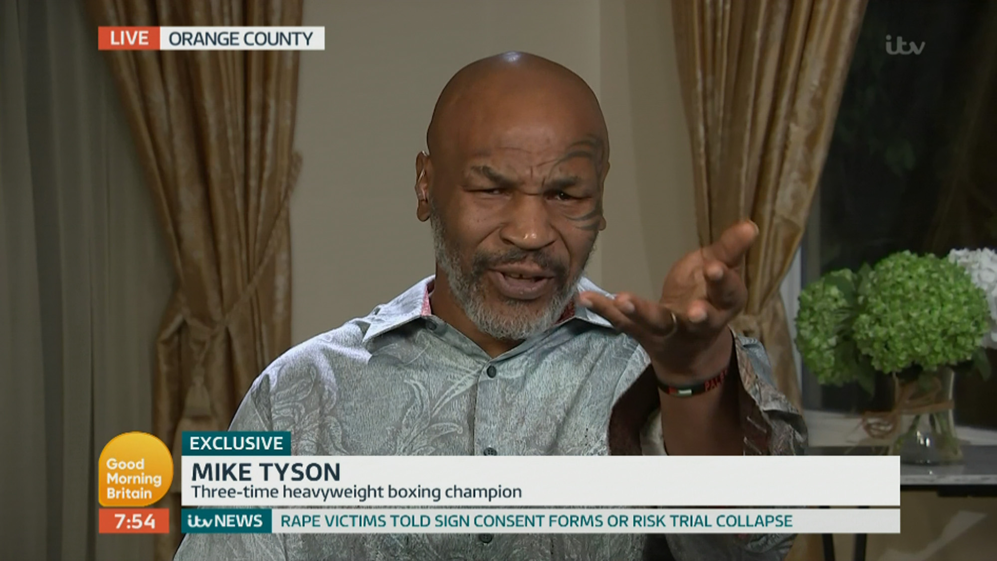 Mike Tyson admits he 'thought about killing and used to shoot at people' before he discovered boxing