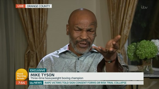 Mike Tyson on Good Morning Britain