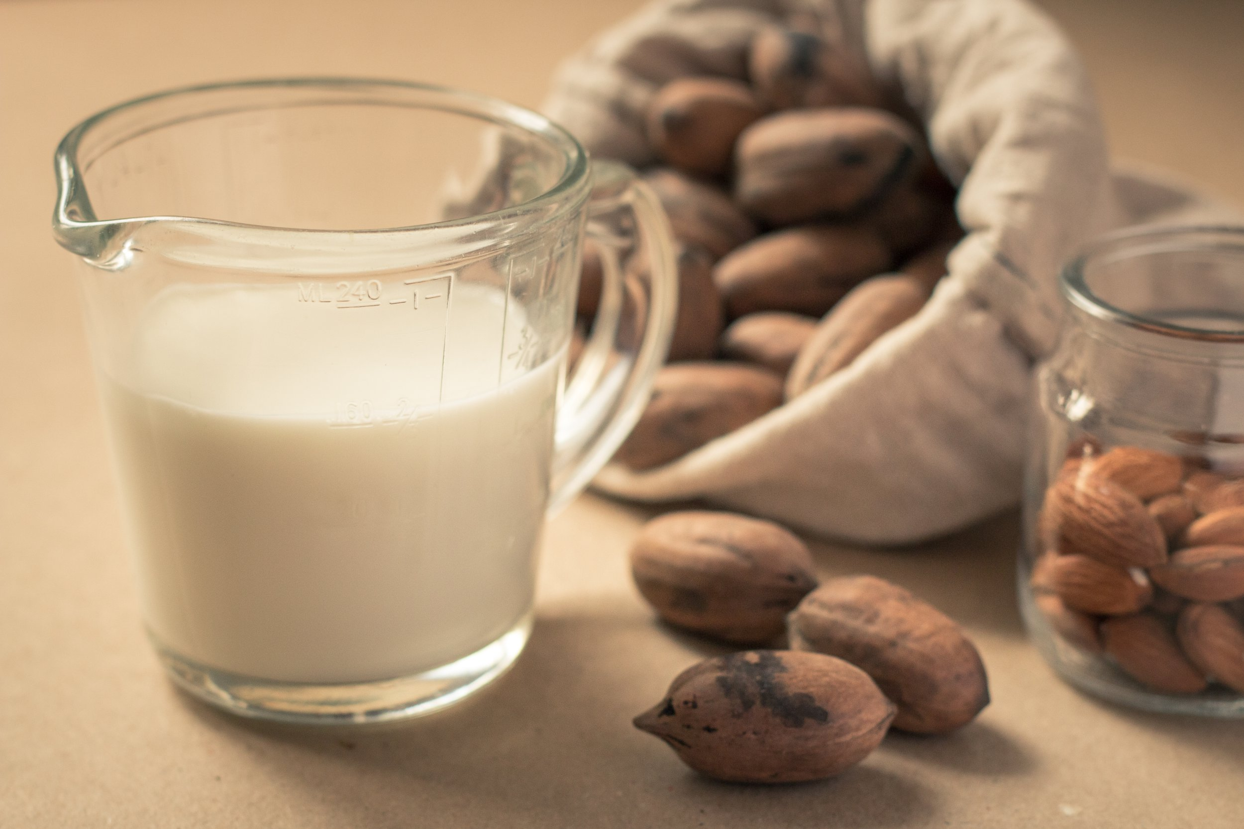 Vegans say plant-based alternatives to dairy milk offer the same amount of nutrients (Picture: Shutterstock/BoPhotoAdventures)