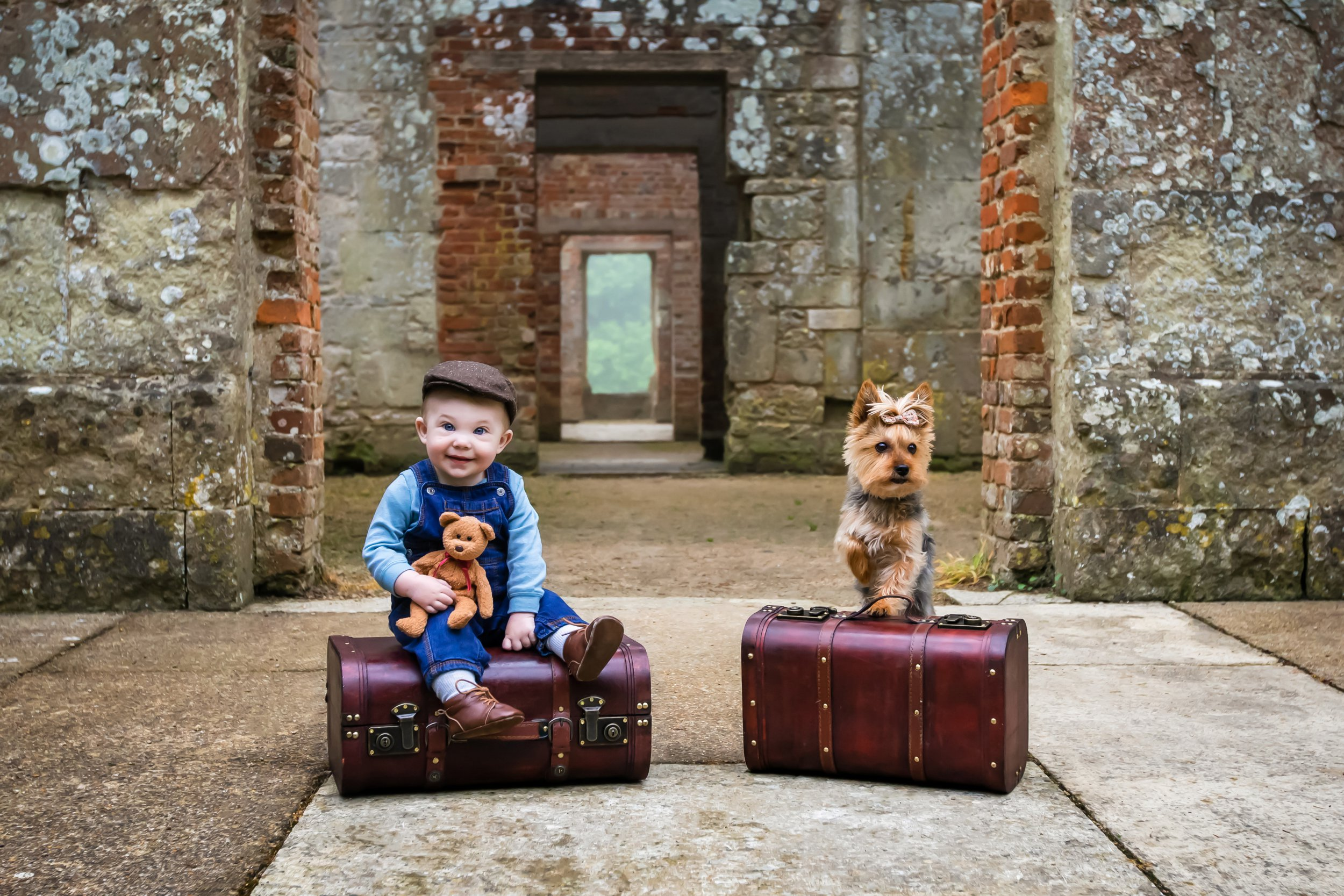 Mum and dad document first year of toddler's life in photos across the UK