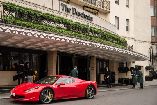 Many have called for a boycott of the Brunei Investment Agency-owned Dorchester Collection luxury hotels, including one in London (Picture: Claire Doherty/SIPA USA/PA)