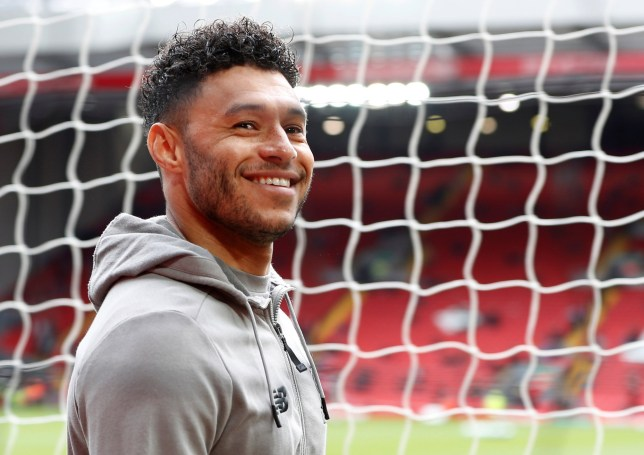 "Soccer Football - Premier League - Liverpool v Tottenham Hotspur - Anfield, Liverpool, Britain - March 31, 2019 Liverpool's Alex Oxlade-Chamberlain before the match Action Images via Reuters/Paul Childs EDITORIAL USE ONLY. No use with unauthorized audio, video, data, fixture lists, club/league logos or ""live"" services. Online in-match use limited to 75 images, no video emulation. No use in betting, games or single club/league/player publications. Please contact your account representative for further details."