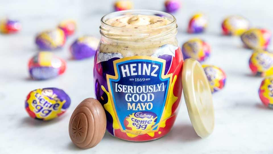 METRO GRAB - Ongoing: April Fool's pranks https://heatworld.com/entertainment/trending/cadbury-creme-egg-mayo-heinz/