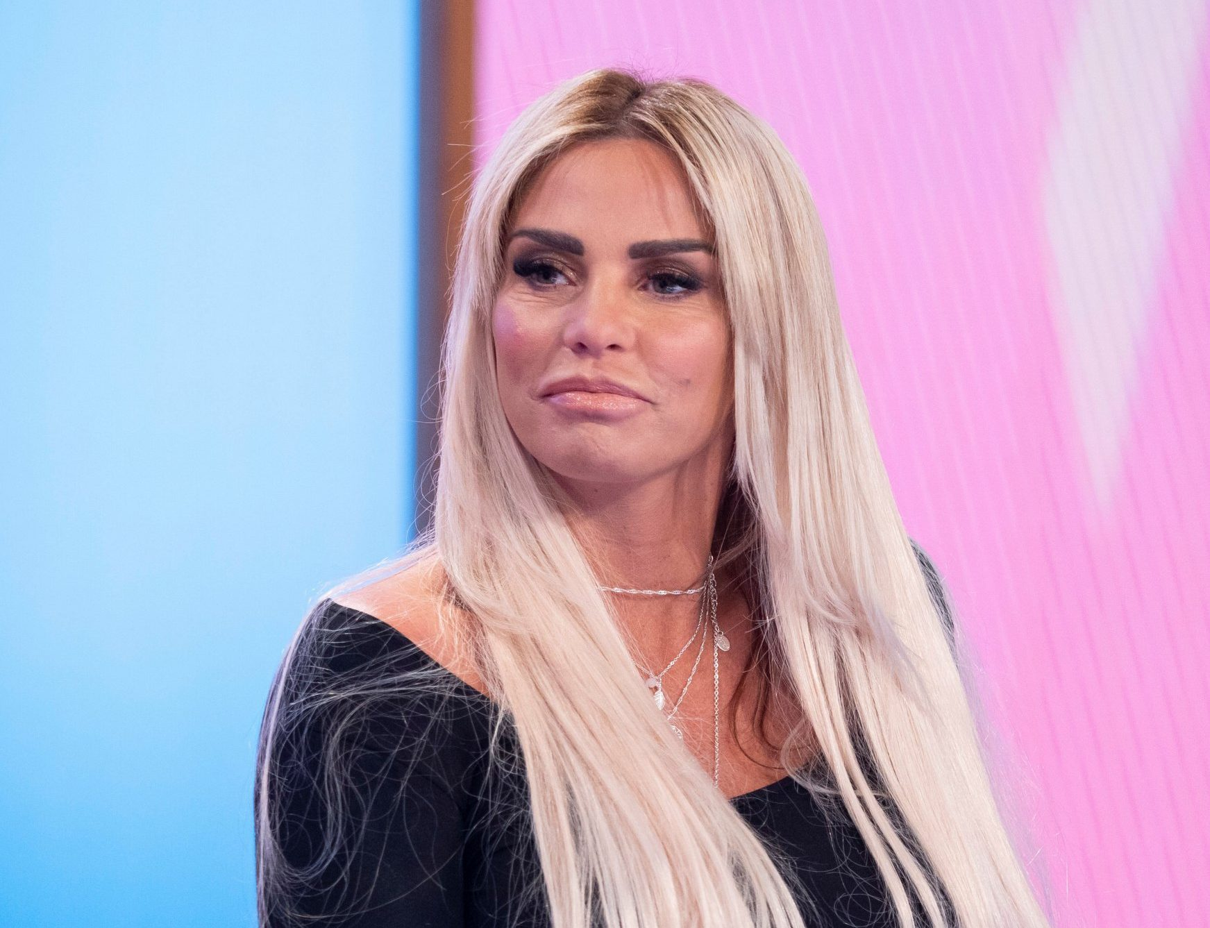 'I look disgusting': Katie Price reveals she's miserable over her weight gain