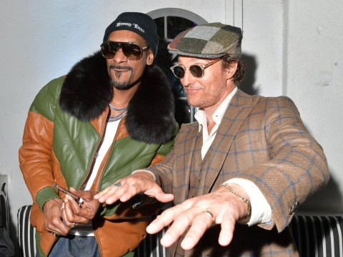 Matthew McConaughey recalls tripping out on Snoop Dogg's weed