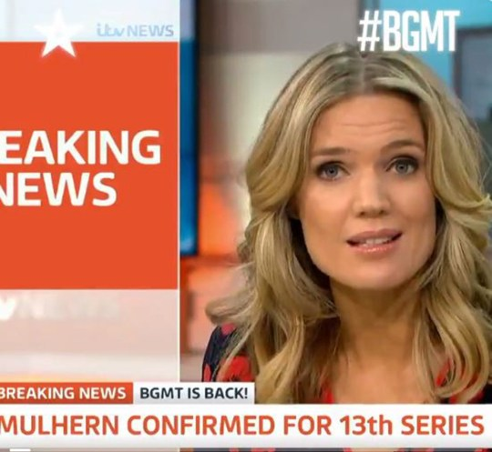 Good Morning Britain's Charlotte Hawkins labels Britain's Got More Talent unbearable as Stephen Mulhern raps return Picture: Britain's Got Talent
