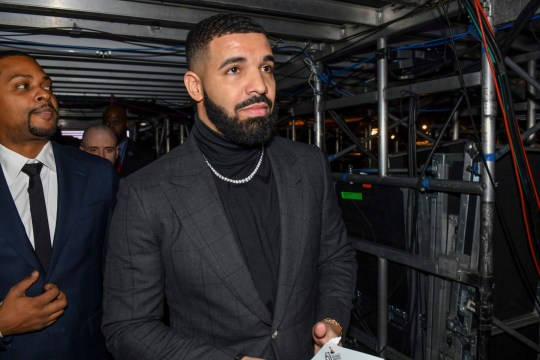 LOS ANGELES - FEBRUARY 10: Drake is seen backstage at THE 61ST ANNUAL GRAMMY AWARDS, broadcast live from the STAPLES Center in Los Angeles, Sunday, Feb. 10 (8:00-11:30 PM, live ET/5:00-8:30 PM, live PT) on the CBS Television Network. (Photo by Timothy Kuratek/CBS via Getty Images)