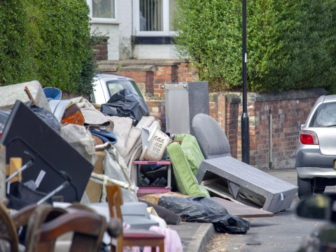 Fly-tippers hijack community litter pick by dumping tonnes of rubbish