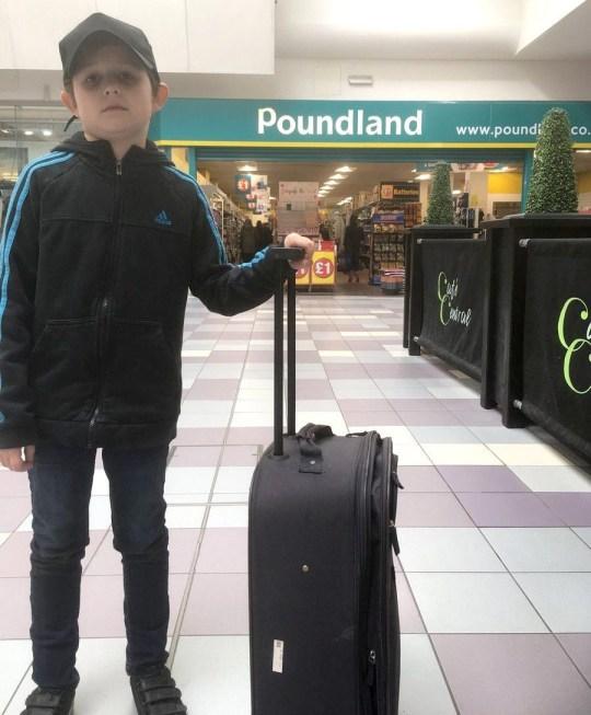 Dad promises son trip to Disneyland but takes him to Poundland instead for April Fool's Joe Heenan Provider: Twitter Source: https://twitter.com/joeheenan/status/1112623330379681792