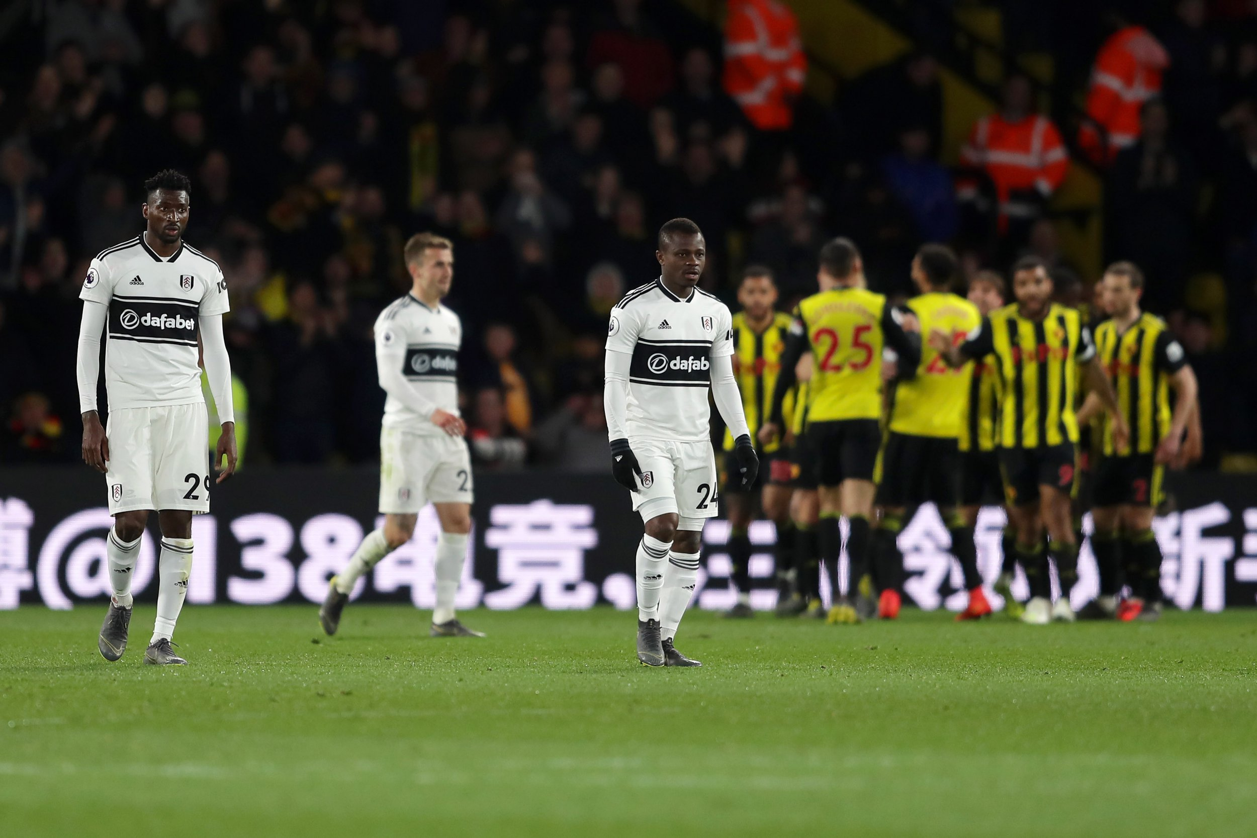 Fulham relegated from Premier League after Watford thrashing