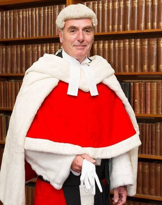 Judge says man having sex with wife is an 'obvious fundamental human right' Justice Hayden Picture: Photoshot