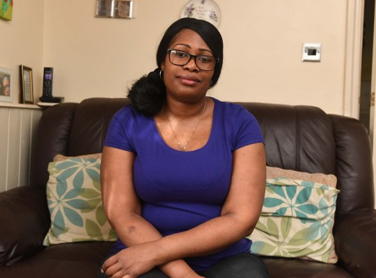 Pictured Melissa Myles from Winson Green, Birmingham, who was left infertile after suffering from Crohns disease, she has now being denied IVF treatment because her partner has two children already.