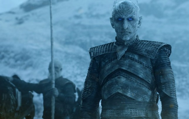 Whitewalker's in HBO's Game of Thrones