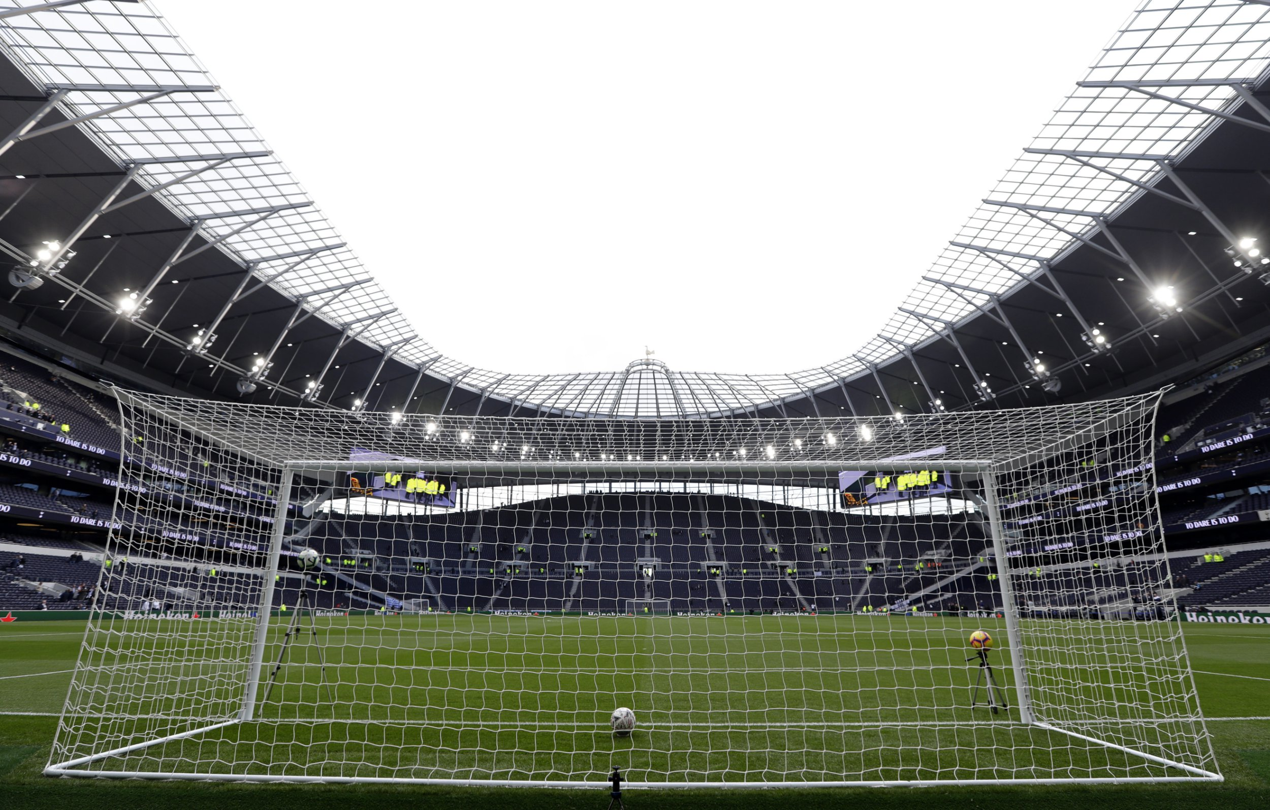 Tottenham's new stadium is breathtaking but now they need to show big club ambition on the pitch