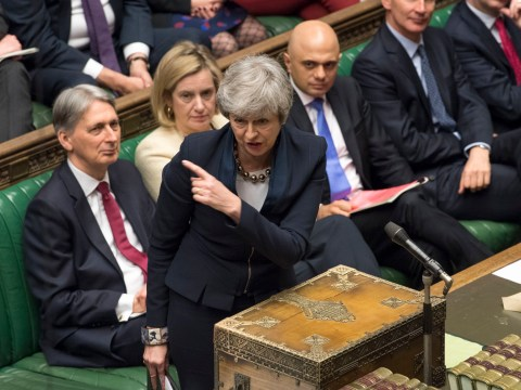 Theresa May forced to delay Brexit and avoid no-deal by just one vote