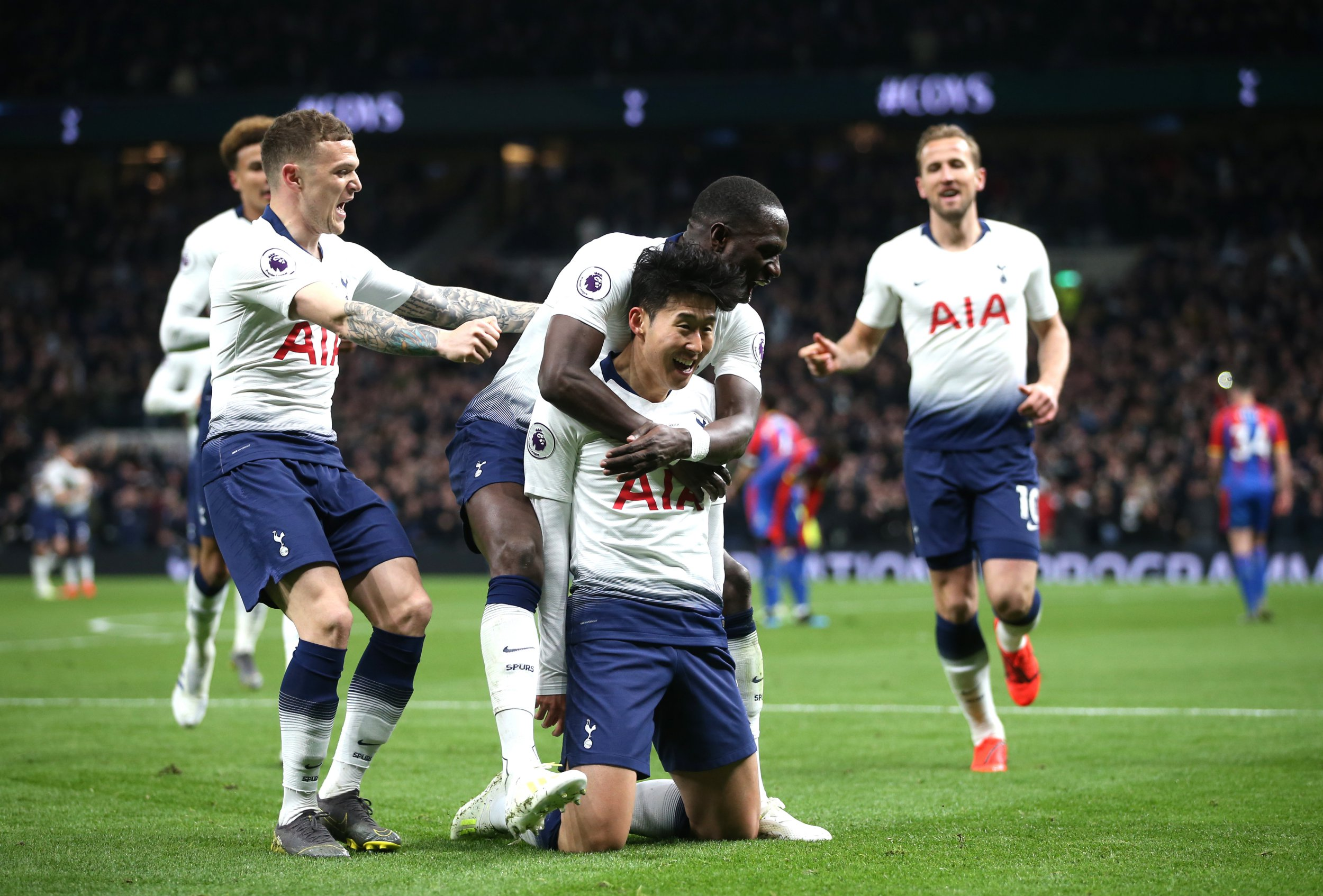 No place like home for Spurs as Son gets their new era off to a perfect start against Crystal Palace