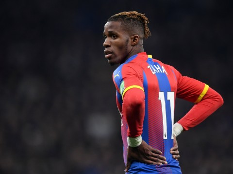 Tottenham pull out of Wilfried Zaha race boosting Arsenal's chances of landing the Crystal Palace star