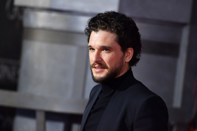 """British actor Kit Harington arrives for the """"Game of Thrones"""" eighth and final season premiere at Radio City Music Hall on April 3, 2019 in New York city. (Photo by Angela Weiss / AFP)ANGELA WEISS/AFP/Getty Images"""