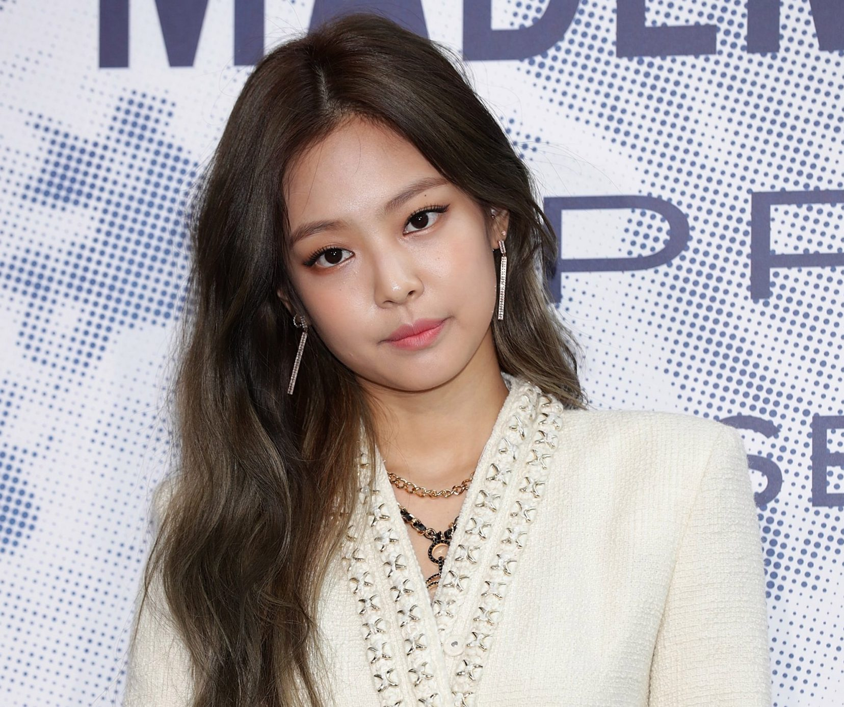 Jennie of girl group BLACKPINK attends the Mademoiselle Prive exhibition at the D-Museum