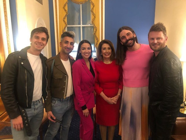Queer Eye cast heads to congress and OMG
