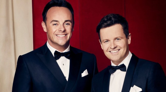 STRICT EMBARGO - NO USE BEFORE 12:00GMT SATURDAY 06 APRIL 2019 - Editorial use only. No book publishing. Mandatory Credit: Photo by Syco/Thames/REX (10188566a) Anthony McPartlin and Declan Donnelly 'Britain's Got Talent' TV Show, Series 13, UK - 06 Apr 2019
