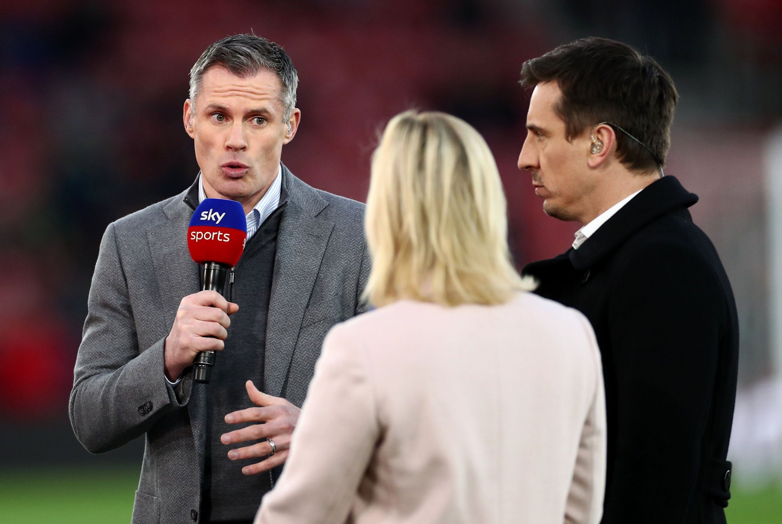 Gary Neville and Jamie Carragher agree Arsenal not favourites to finish in top four ahead of Man Utd or Chelsea