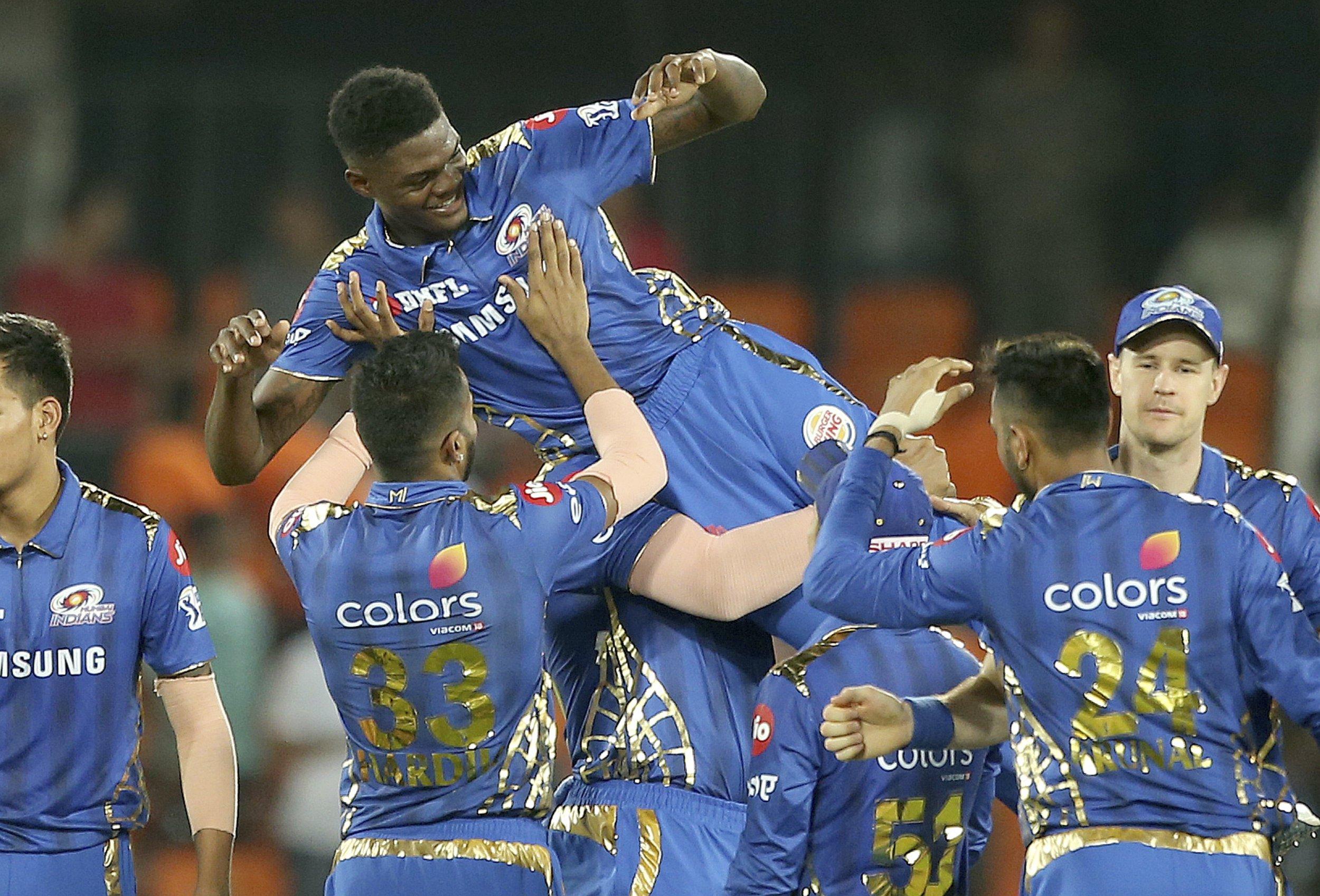 West Indies star Alzarri Joseph makes IPL history in Mumbai Indians victory over Sunrisers Hyderabad