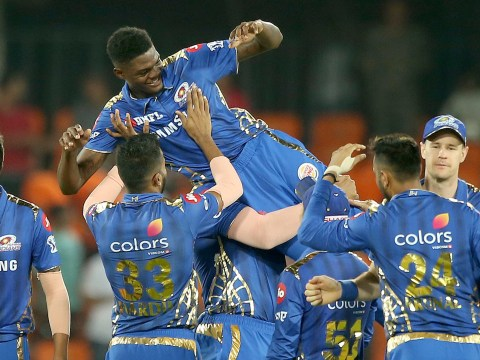 West Indies star Alzarri Joseph makes IPL history in Mumbai Indians victory over Sunrisers Hyderabad