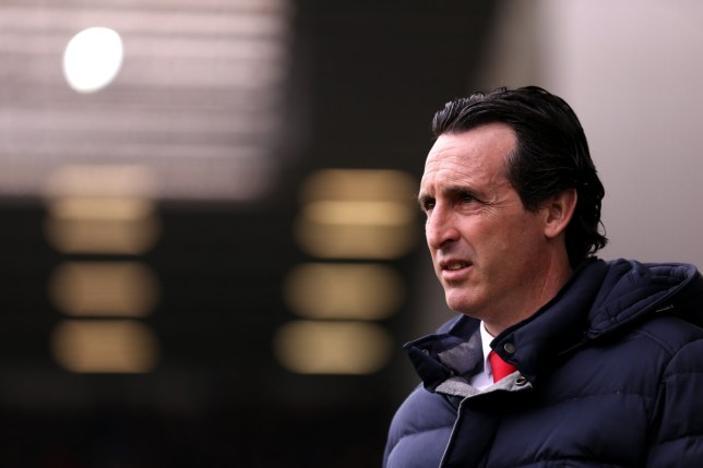 LIVERPOOL, ENGLAND - APRIL 07: Unai Emery, Manager of Arsenal ahead of the Premier League match between Everton FC and Arsenal FC at Goodison Park on April 07, 2019 in Liverpool, United Kingdom. (Photo by Alex Pantling/Everton FC via Getty Images)