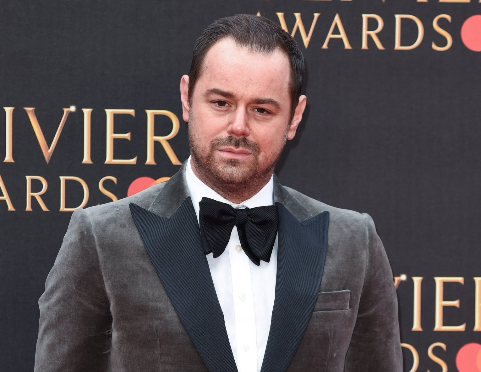 EastEnders star Danny Dyer's cheeky joke about the Duchess of Cornwall gets 'cut' from Olivier Awards