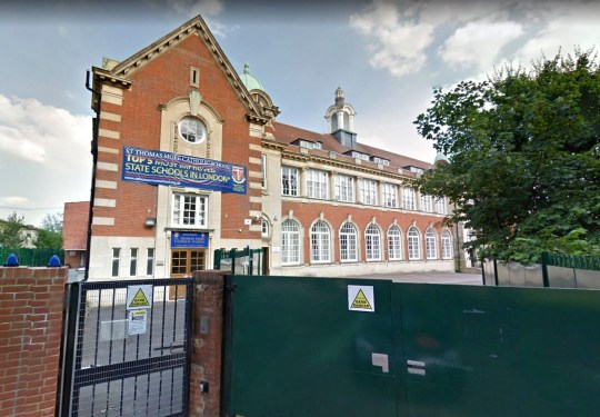 Teacher sent to work at top secondary school despite being unable to read and write St Thomas More Catholic School, Wood Green Provider: Google Map Source: https://www.google.com/maps/@51.6046562,-0.1091673,3a,75y,118.55h,97.7t/data=!3m6!1e1!3m4!1sPGqBiewjJvp5zvpE1ZqxFw!2e0!7i13312!8i6656