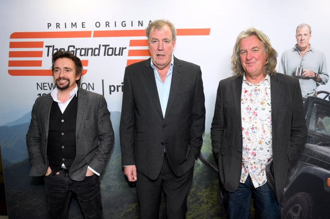 Jeremy Clarkson, Richard Hammond and James May promote The Grand Tour