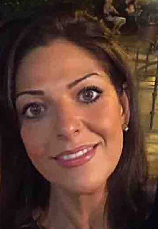 """INS News Agency Ltd. 08/04/2019 This is the face of a woman who has been charged with pretending to have cancer to fraudulently raise over ?45,000 in cash from generous members of the public who donated to fund her """"treatment."""" Nicole Elkabbas (corr) was investigated by detectives who questioned whether she actually had the deadly illness which she claimed to have in an online fundraising campaign. The 40-year-old mother, who was known for her appearances on TV as a comedienne, was charged on April 5 with six counts of fraud between February and August 2018 during which time she was said to have wrongly accepted ?45,350 from compassionate donors. See copy INScancld"""