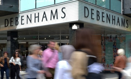 File photo dated 10/09/18 of a Debenhams shop front. Mike Ashley's Sports Direct has made a revised ??200 million rescue offer for the department store, delaying their likely administration. PRESS ASSOCIATION Photo. Issue date: Tuesday April 9, 2019. The offer involves underwriting a rights issue which would see existing investors buying newly issued shares and is an advance on an ??150 million plan tabled on Monday, which was rejected. See PA story CITY Debenhams. Photo credit should read: Nick Ansell/PA Wire