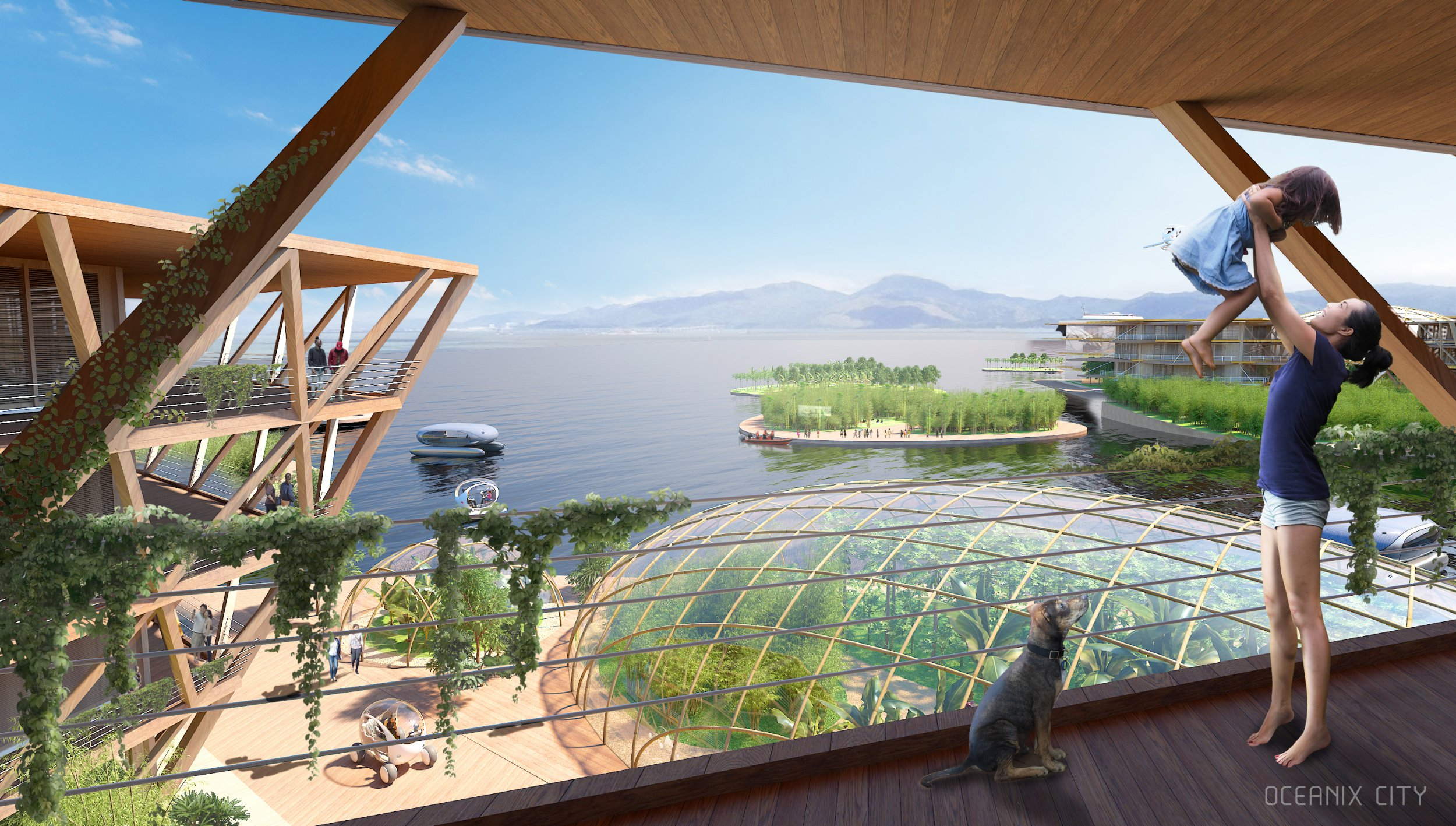 Floating city of the future could be the way humans survive climate change