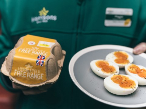 Morrisons launches packs of rare double yolker eggs for £1.50